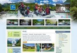 Vadvízi Klub – weboldal, amit a kliens bővít és szerkeszt